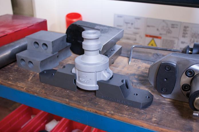 3d parts on the shop floor