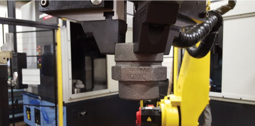 robotic end of arm gripper